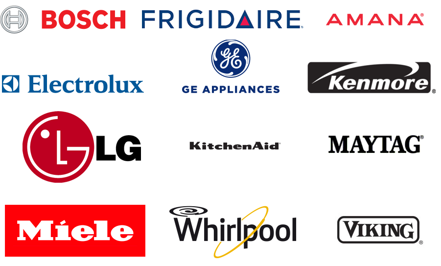 Appliance Brands we repair and install Markham