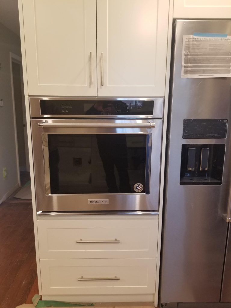 Build in oven installation King City
