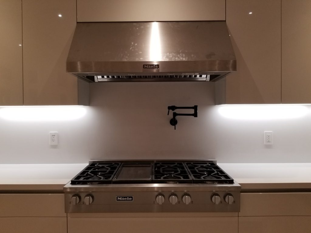 cock top and range hood installation GTA