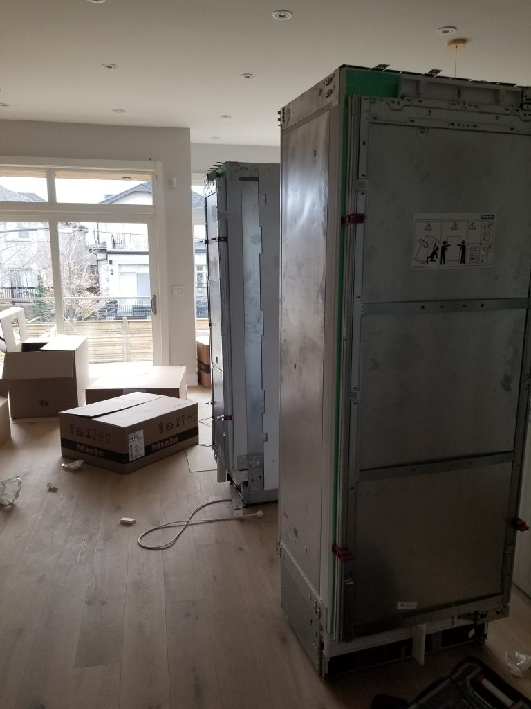 double door refrigerator installation toronto