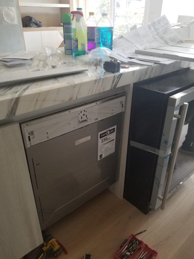 dishwasher installation GTA