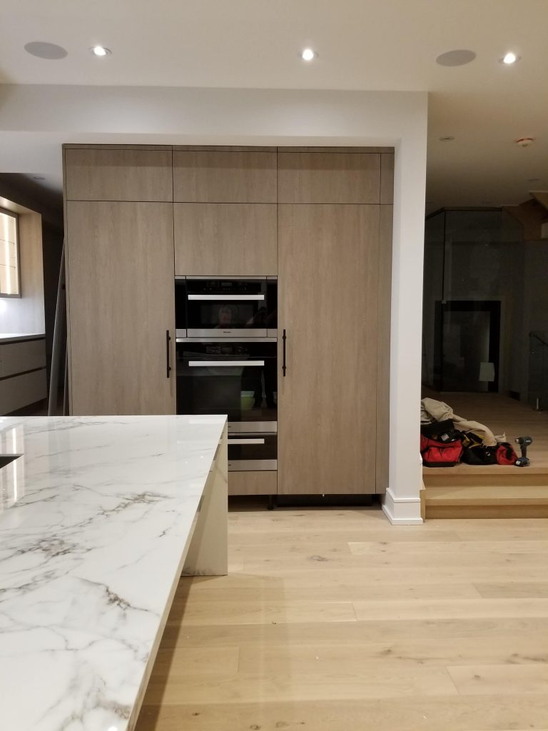 fridge with panel doors installation