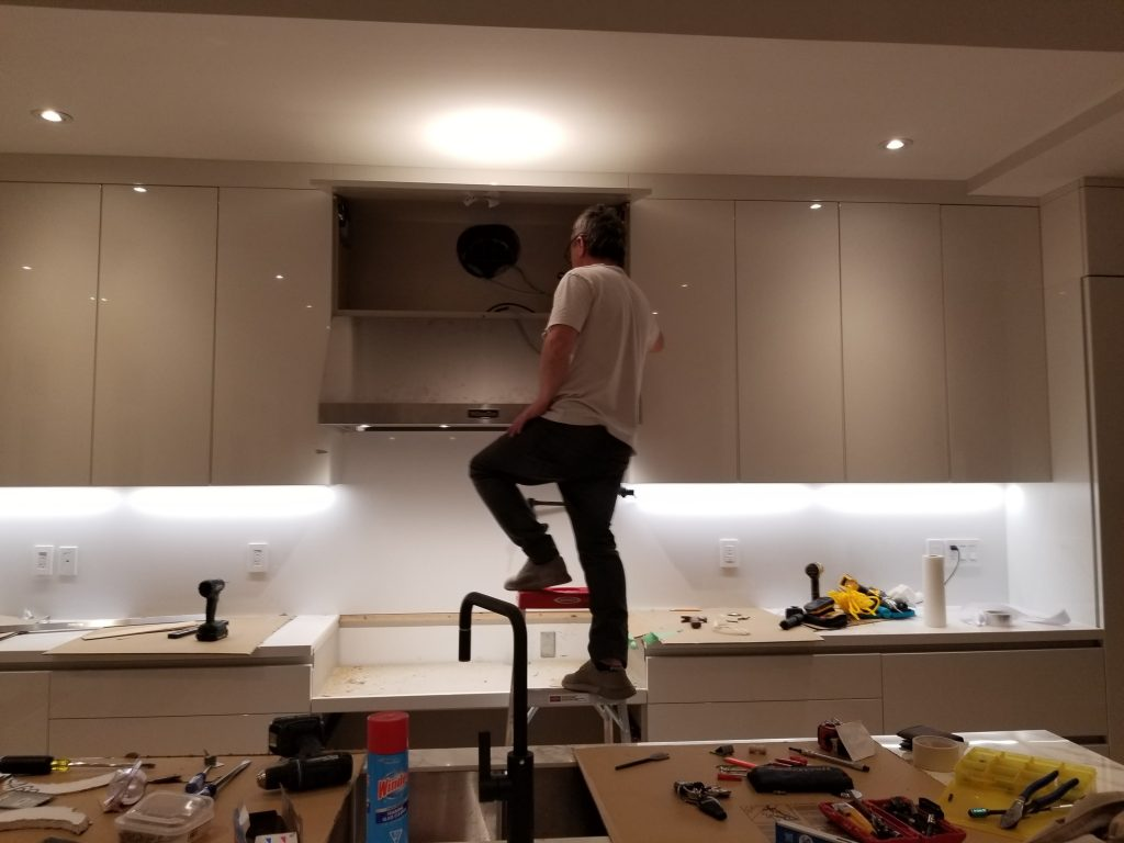 Over Range Hood installation Toronto