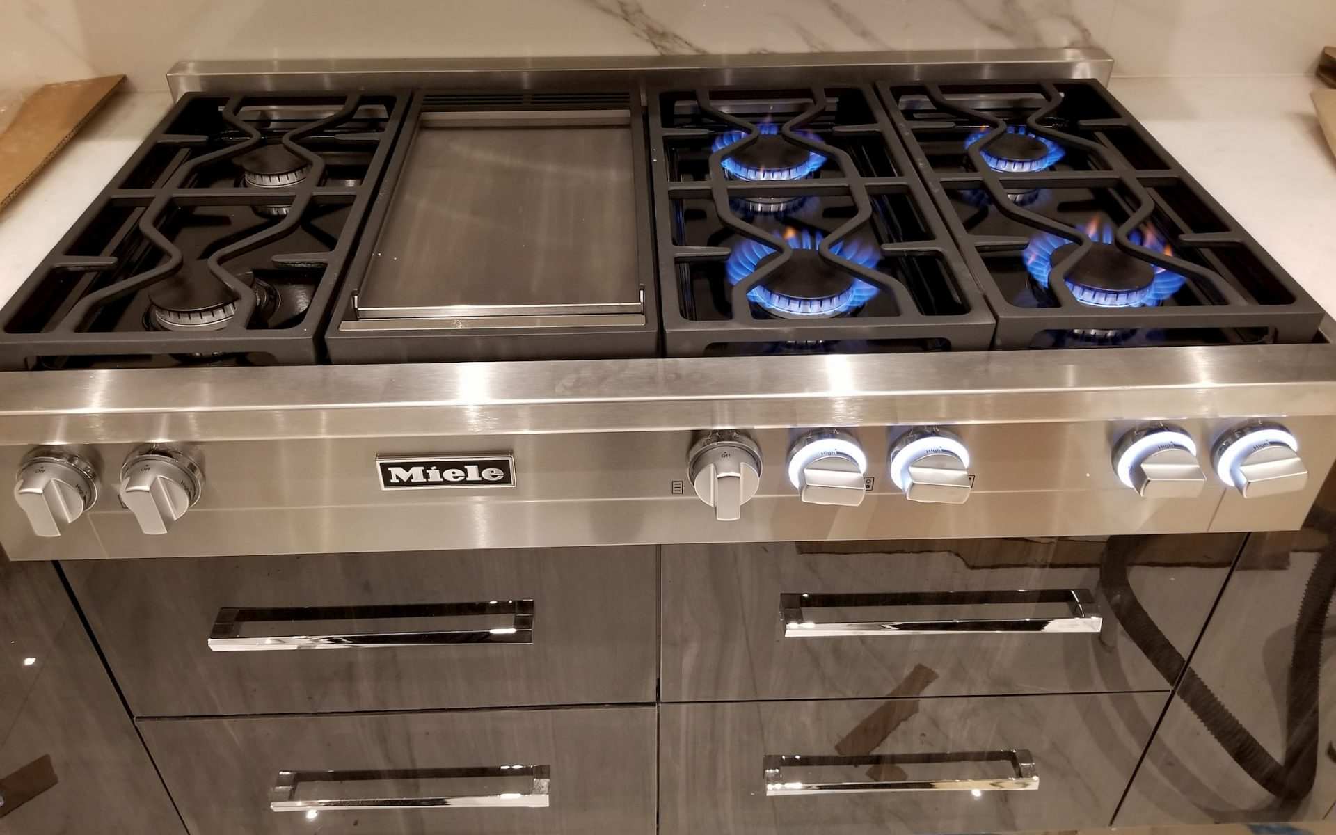 stove installation service