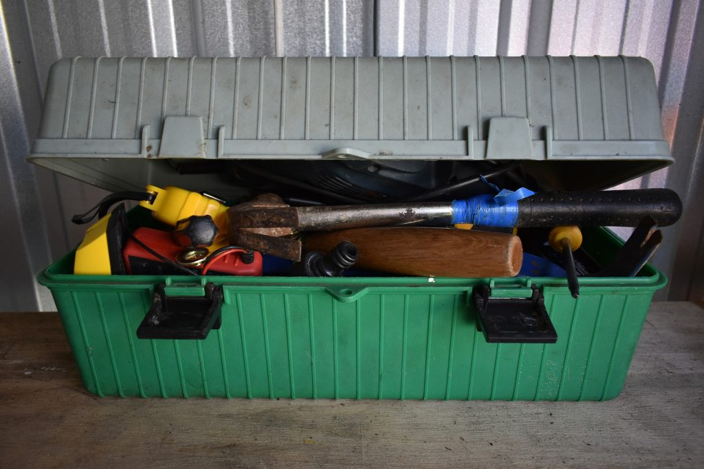 photo of tool box
