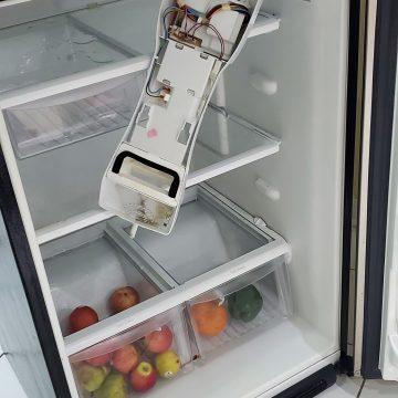 ge fridge repairinterface board replacement